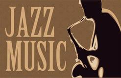 Saxofonist Stock Fotografie