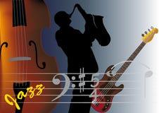 saxofonist Royaltyfria Foton
