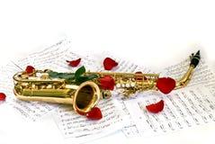 Saxofoon Stock Fotografie