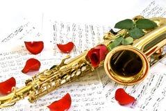 Saxofoon Royalty-vrije Stock Foto
