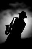 Saxofoon Stock Foto's