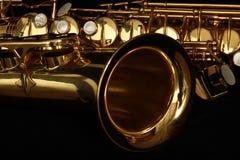 Saxofoon Royalty-vrije Stock Afbeelding
