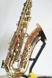 Saxofoondetails Royalty-vrije Stock Afbeeldingen
