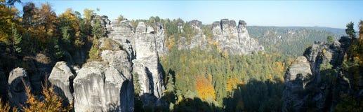 Saxon Швейцария в осени Стоковое фото RF