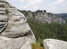 Saxon Швейцария Стоковое фото RF
