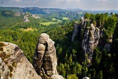 Saxon Швейцария Стоковое Изображение