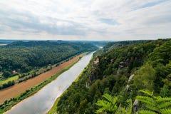 Saxon Швейцария Стоковые Изображения
