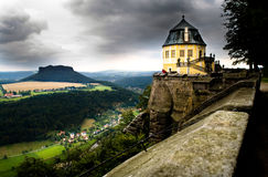 Saxon Швейцария Стоковые Изображения RF