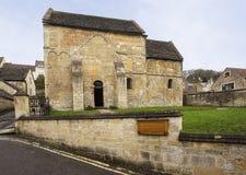 Saxon Church Bradford on Avon Stock Photo