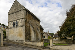 Saxon church of st Lawrence, Bradford on Avon Royalty Free Stock Photography