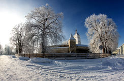Saxon Fortified Church from Harman Royalty Free Stock Photos