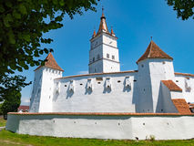 The Saxon fortified Church Harman also known as Honigberg in Tra Stock Images