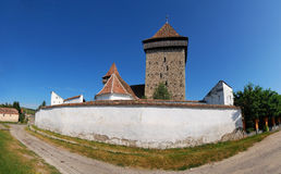 Saxon fortified church in Transylvania Royalty Free Stock Image