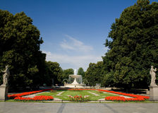 The Saxon Garden, Warsaw Royalty Free Stock Photography