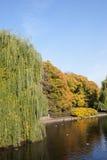 Saxon Garden in Warsaw Stock Photo