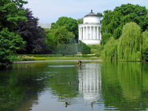Saxon garden, Warsaw, Poland Stock Photos
