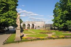 Saxon Garden in Warsaw Royalty Free Stock Images