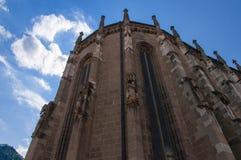 Saxon church. Saxon historical church , blue sky background Stock Images