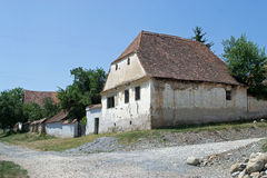 Saxon house in Viscri, Transylvania, Romania Royalty Free Stock Image