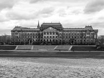Saxon Ministry of Finance in Dresden Royalty Free Stock Photos