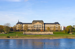 Saxon State Chancellery building - Dresden, Germany Stock Photos