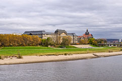 Saxon State Chancellery building - Dresden, Germany Stock Photography
