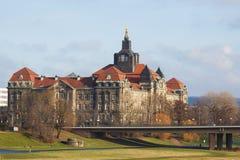 The Saxon State Chancellery Stock Photos