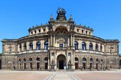 Saxon State Opera Semperoper in Dresden Stock Image