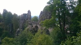 Saxon Suisse Image stock