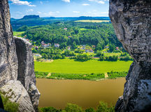 Saxon Suisse Photographie stock