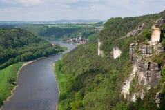 Saxon Suisse, Allemagne images libres de droits