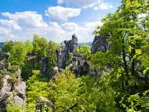 Saxon Svizzera Immagini Stock Libere da Diritti