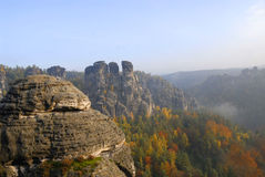 saxon switzerland Royaltyfri Fotografi