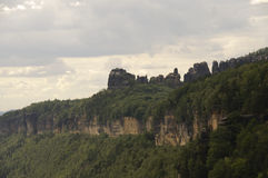 saxon switzerland Royaltyfria Foton