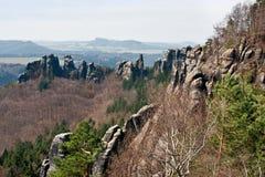 Saxon Switzerland Royalty Free Stock Photography