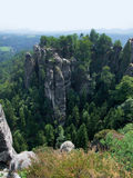 Saxon Switzerland Royalty Free Stock Image