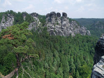 Saxon Switzerland Stock Photography