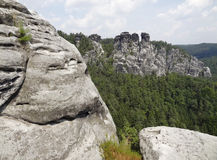 Saxon Switzerland Royalty Free Stock Photo