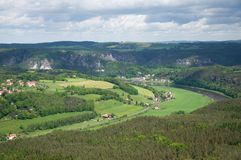 Saxon Switzerland, Germany Stock Photography