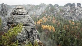 Saxon Switzerland, Germany stock images