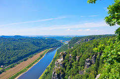 Saxon Switzerland, Germany Royalty Free Stock Photo