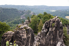 Saxon Switzerland National Park Royalty Free Stock Image