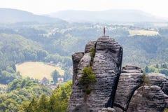 Saxon Switzerland National Park - Bastei, Germany Stock Photography