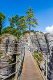 Saxon Switzerland National Park - Bastei, Germany Royalty Free Stock Photography