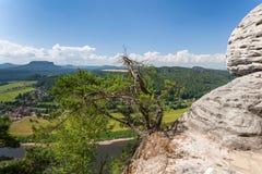 Saxon Switzerland National Park - Bastei, Germany Royalty Free Stock Photos