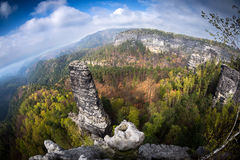 Saxon switzerland Royalty Free Stock Images