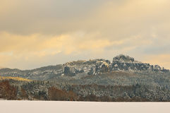 Saxon Switzerland Royalty Free Stock Photography