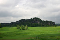 Saxon Switzerland Royalty Free Stock Photos