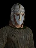 Saxon Warrior Chieftain Portrait Stock Photos