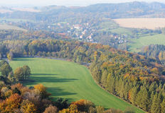 Saxony aerial Stock Photography